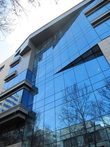 استفاده از شیشه در معماری و شهر سازی