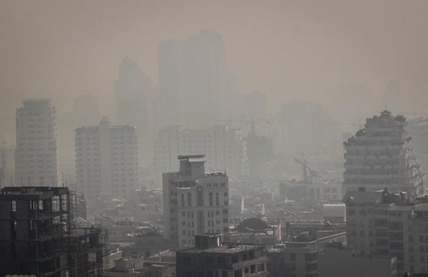 بررسی آلودگی هوا