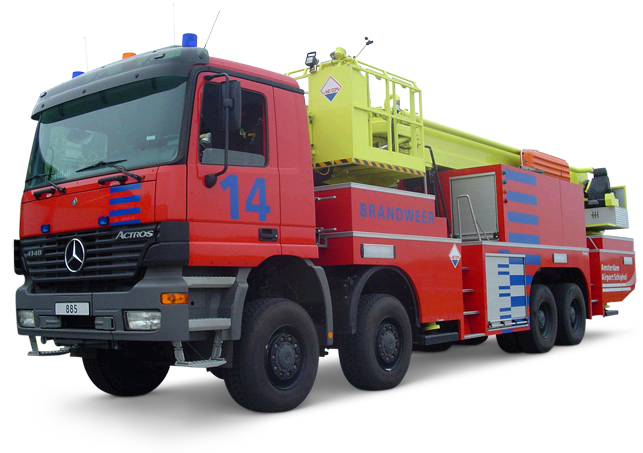 سنسورهای ماشین آتش نشانی
