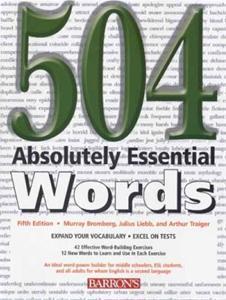 کتاب 504 واژه ضروری زبان انگلیسی + ترجمه و تمرین