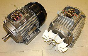 کنترل موتور القایی