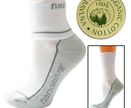 خواص ضد میکروبی جوراب های محافظت شده با نانو ذرات نقره