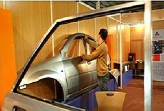 آماده سازی فلزات برای ساخت بدنه خودرو