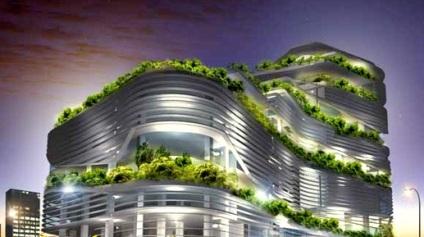 انرژی خورشیدی در ساختمان های سبز