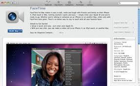 برنامه فیس تایم برای  .سیستم عامل مکینتاش
