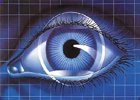 سیستم تشخیص پلک زدن چشم برای تعامل انسان و کامپیوتر