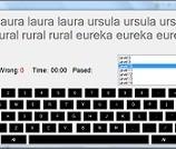 دانلود پروژه برنامه نویسی نرم افزار آموزش تایپ با سی شارپ