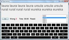 نرم افزار آموزش تایپ با سی شارپ